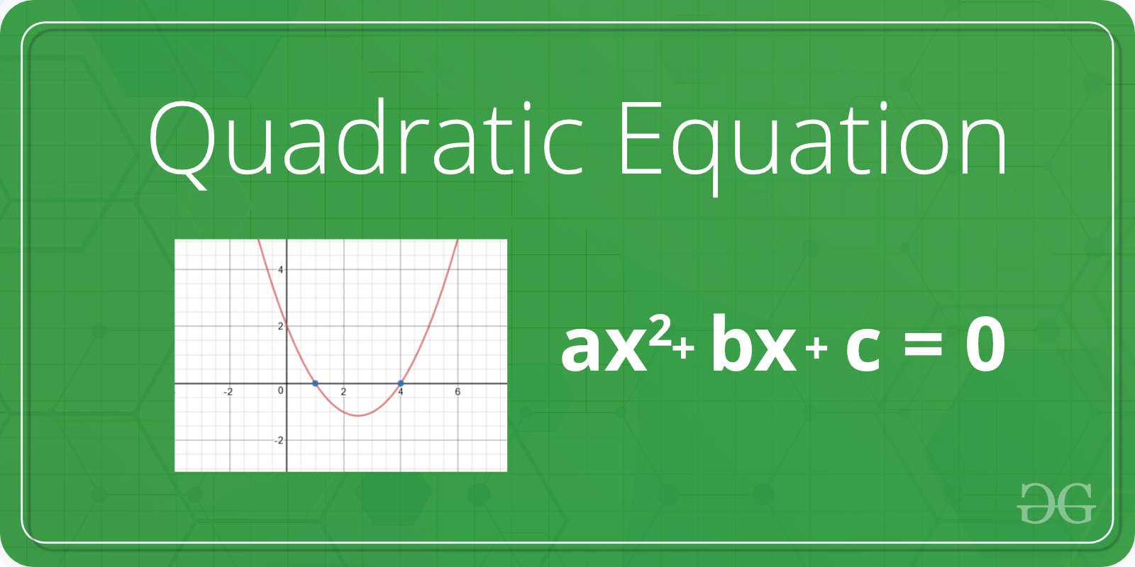 Program To Find The Roots Of Quadratic Equation