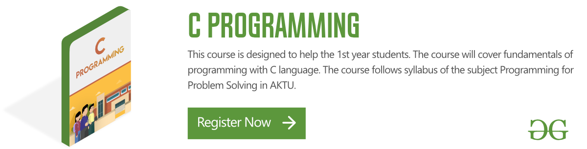C Programming Language - GeeksforGeeks