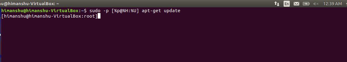 sudo command  linux  examples geeksforgeeks